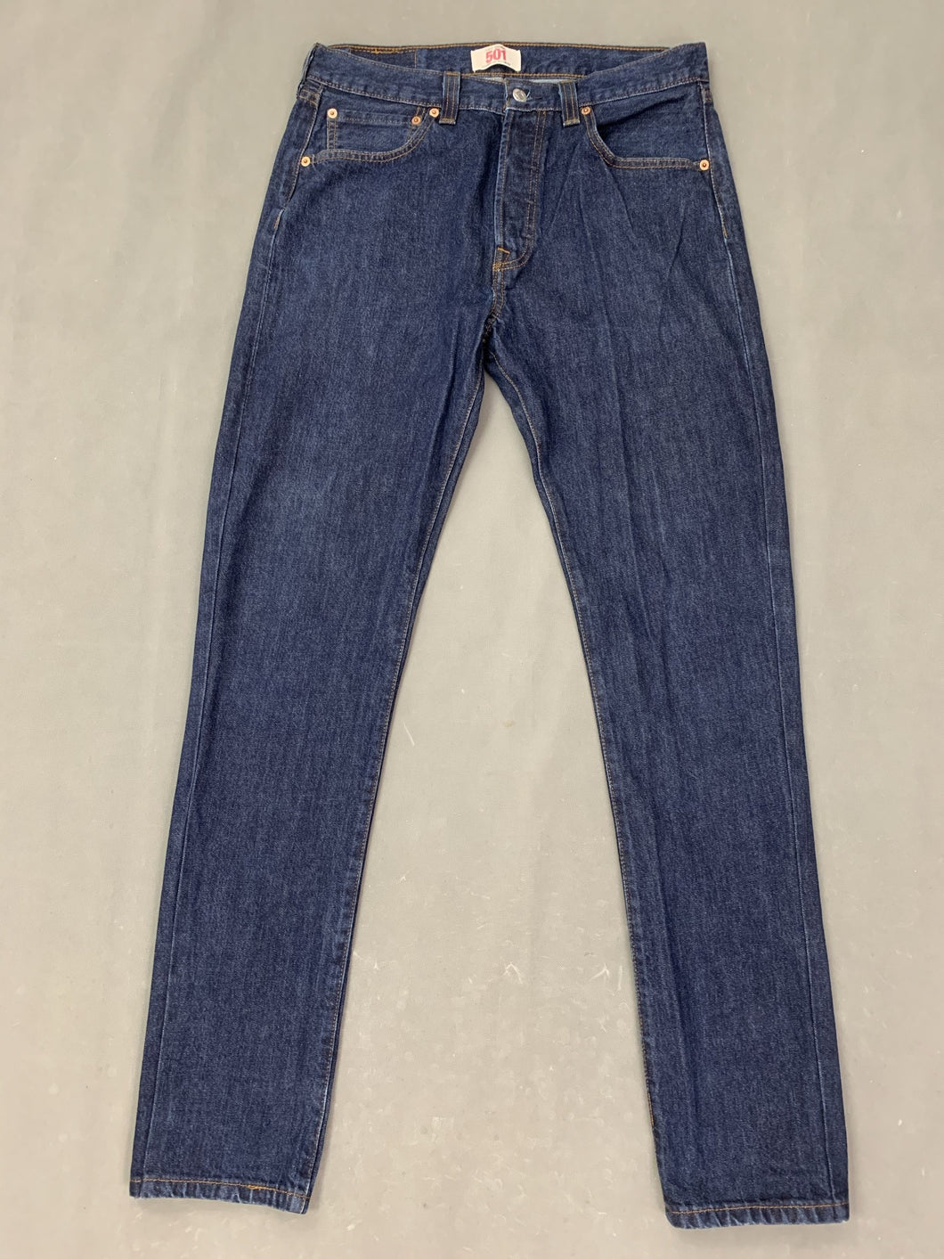 LEVI STRAUSS &Co Mens LEVI'S Blue Denim 501 JEANS Size Waist 32
