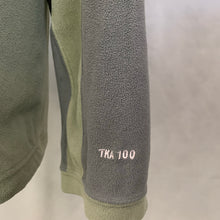 Load image into Gallery viewer, THE NORTH FACE Mens TKA100 Green FLEECE TOP - Size L LARGE
