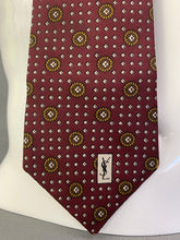 Load image into Gallery viewer, YVES SAINT LAURENT Paris Mens 100% SILK TIE