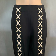 Load image into Gallery viewer, MOSCHINO CHEAPandCHIC Ladies Black TROUSERS - Size IT 42 - UK 10