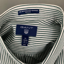 Load image into Gallery viewer, GANT Mens THE BROADCLOTH BANKER Regular Fit SHIRT - Size XL Extra Large