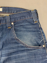"Load image into Gallery viewer, LEVI STRAUSS &Co Mens Blue Denim LEVI'S 503 JEANS Size Waist 34"" Leg 31"" LEVIS"
