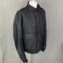Load image into Gallery viewer, BARBOUR Mens CARBON FINISH FLYER JACKET / COAT - Size LARGE - L