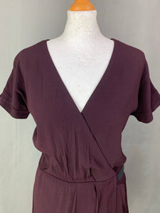 THE KOOPLES Ladies Purple DRESS Size 38 - M Medium UK 12