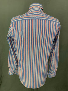 TOMMY HILFIGER Mens Striped SHIRT - Size Small S