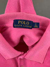 Load image into Gallery viewer, POLO RALPH LAUREN Ladies Pink POLO SHIRT - Size Small S
