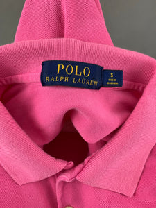 POLO RALPH LAUREN Ladies Pink POLO SHIRT - Size Small S