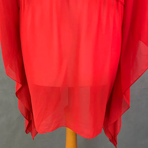 FOREVER UNIQUE BELLINI KAFTAN TOP / BEACH COVER-UP DRESS - Size 1 - S Small