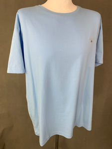 New GANT Mens Regular Fit Capri Blue T-SHIRT - Size 2XL XXL - TSHIRT TEE BNWT