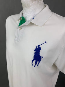 POLO RALPH LAUREN Mens White POLO SHIRT Size XL Extra Large