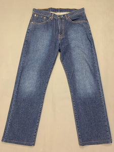 "LEVI STRAUSS & Co Mens Blue Denim LEVI'S 751 JEANS Size Waist 32"" Leg 28"" LEVIS"