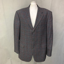 "Load image into Gallery viewer, HUGO BOSS Mens ANGELICO Cashmere Blend BLAZER / JACKET Size IT 56 / UK 46"" Chest"