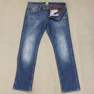 "HUGO BOSS Mens DELAWARE Blue Denim JEANS Size Waist 34"" - Leg 29"""