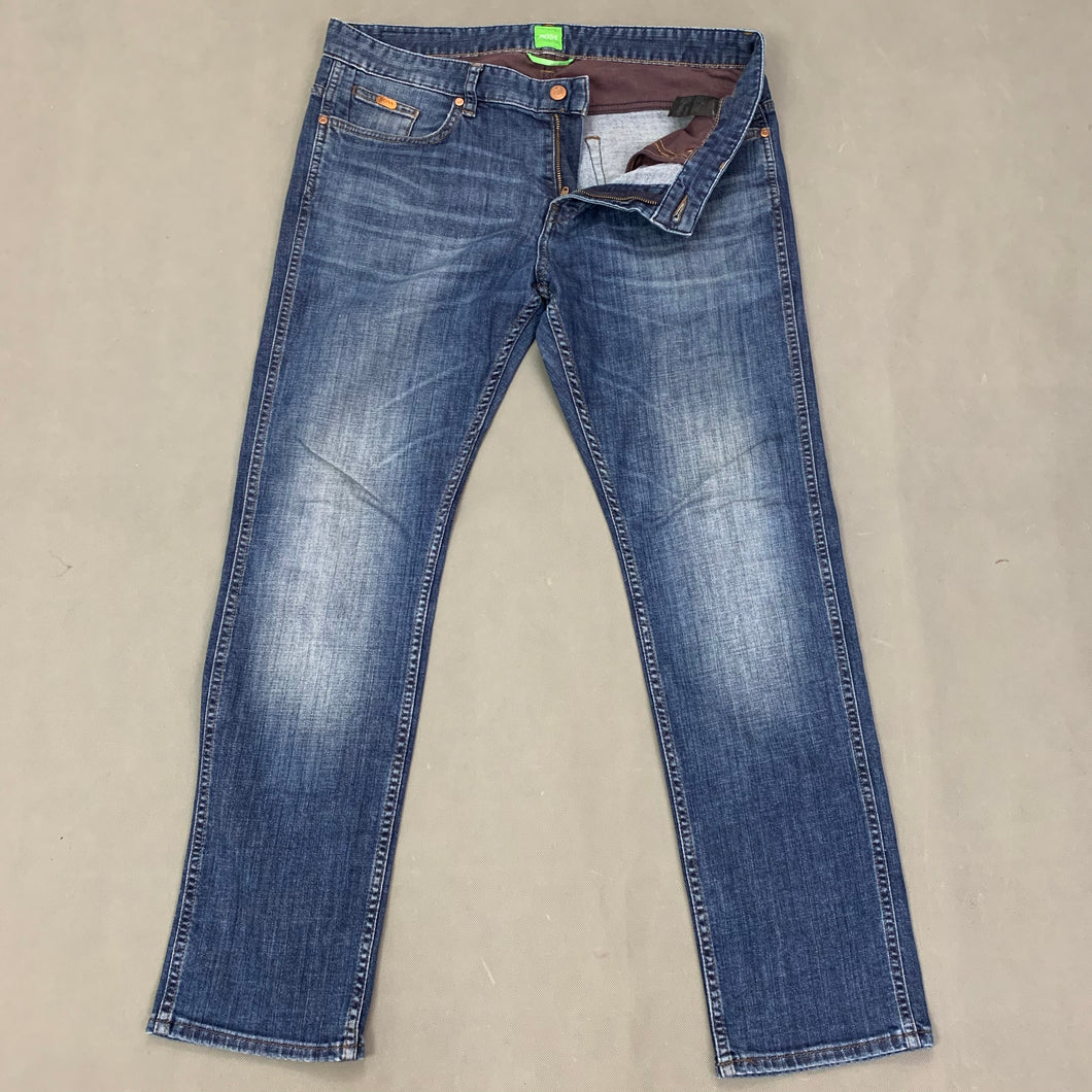 HUGO BOSS Mens DELAWARE Blue Denim JEANS Size Waist 34