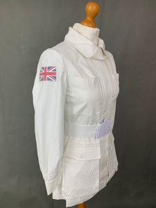 STELLA McCARTNEY for adidas Ladies White TEAM GB COAT / JACKET Size Small S