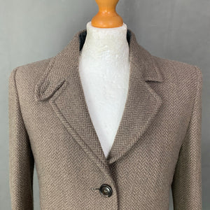 ARMANI COLLEZIONI Ladies VIRGIN WOOL & CASHMERE JACKET Size IT 44 - UK 12