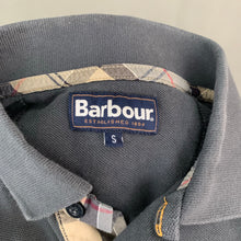 Load image into Gallery viewer, BARBOUR Mens Grey Short Sleeved POLO SHIRT - Size Small S