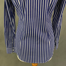 Load image into Gallery viewer, RALPH LAUREN SPORT Ladies Blue & White Striped Shirt - Size US 4 - UK 8