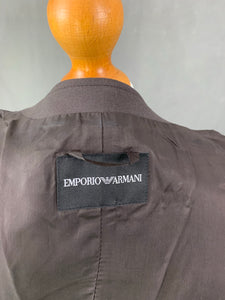 EMPORIO ARMANI Ladies VIRGIN WOOL Blend JACKET Size IT 42 - UK 10