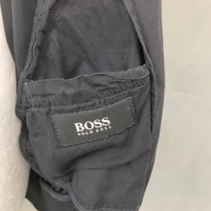 "HUGO BOSS Mens NUGGET Navy Blue COAT / JACKET Size IT 56 - 3XL XXXL - UK 46"" Chest"