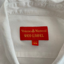 Load image into Gallery viewer, VIVIENNE WESTWOOD RED LABEL Ladies White SHIRT - Size IT 44 - UK 12