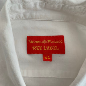 VIVIENNE WESTWOOD RED LABEL Ladies White SHIRT - Size IT 44 - UK 12
