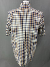 Load image into Gallery viewer, AQUASCUTUM Mens VICUNA CLUB Check SHIRT - Size L Large