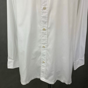"CHARVET Paris Mens White Long Sleeved SHIRT - Size 42"" Chest - XL Extra Large"