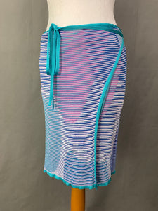 MISSONI WRAP CARDIGAN & WRAP SKIRT 2 PIECE SET Size UK 12 - IT 44 Made in Italy