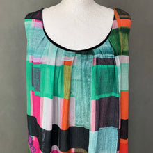 Load image into Gallery viewer, DESIGUAL Ladies Sleeveless Colourful DRESS - Size 46 - UK 18