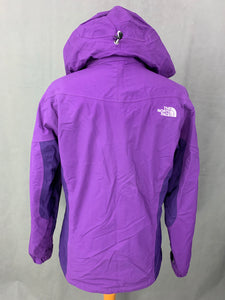 THE NORTH FACE Ladies Purple HYVENT COAT / JACKET Size S Small