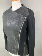 Load image into Gallery viewer, TED BAKER Ladies MEYAA Leather Jacket / COAT Ted Size 3 - UK 12 M Medium