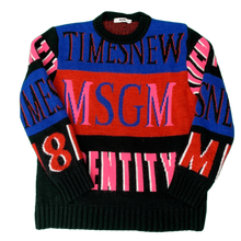 Load image into Gallery viewer, MSGM Kids Chunky ALPACA Blend JUMPER Size Aged 12 Yrs