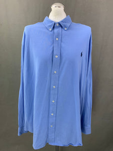RALPH LAUREN Mens Check Pattern SHIRT Size 3XB BIG