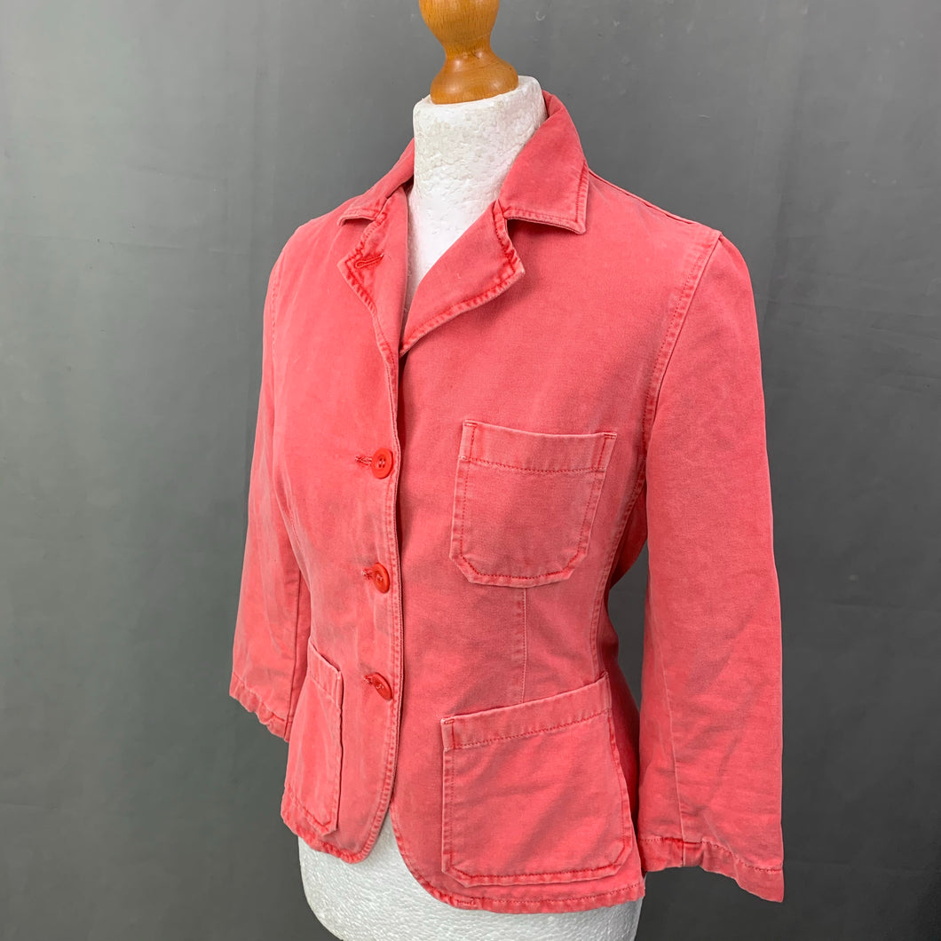 PAUL SMITH PINK Ladies JACKET Size IT 42 - UK 10 Made in Italy