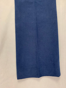 "AQUASCUTUM Mens Navy Blue Tapered Leg TROUSERS Size Waist 34"" - Leg 29"""