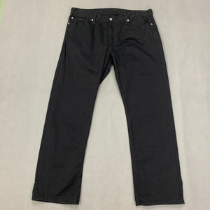 "LEVI STRAUSS &Co Mens LEVI'S Black Denim 514 JEANS Size Waist 40"" Leg 32"" LEVIS"