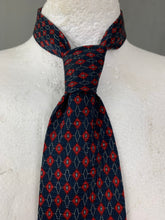 Load image into Gallery viewer, CHRISTIAN DIOR Monsieur Mens 100% Silk Patterned TIE - Made in England