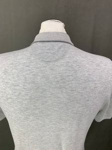 BRUNELLO CUCINELLI Mens Grey Slim Fit POLO SHIRT Size Small S