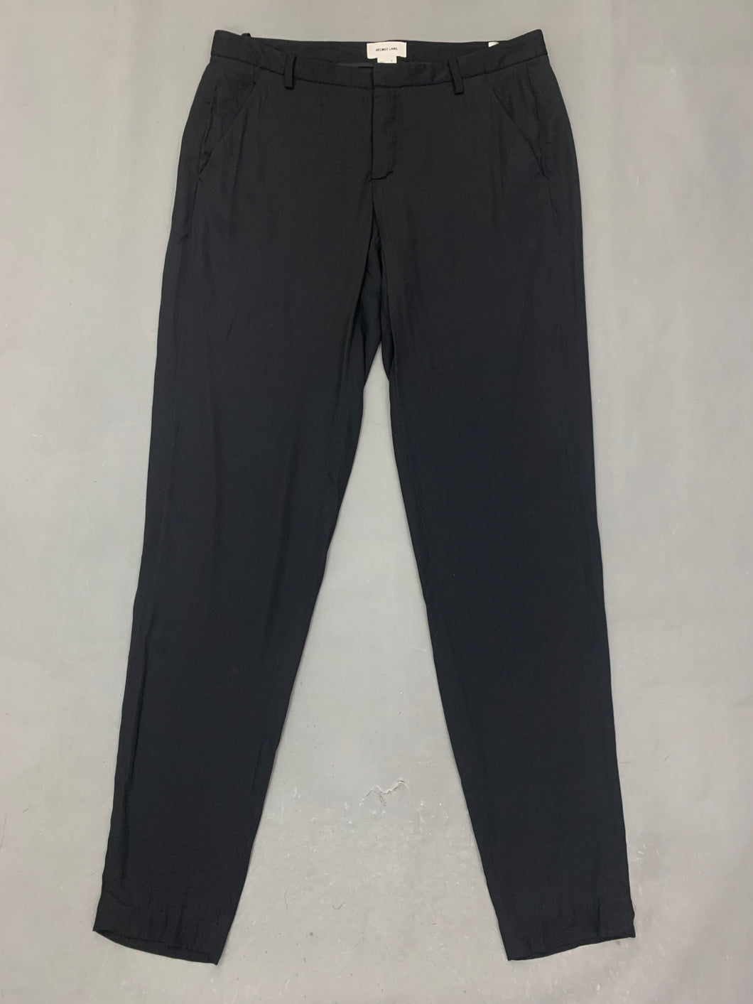 HELMUT LANG Ladies Black TROUSERS - Size US 6 - UK 10