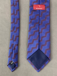 OZWALD BOATENG Mens 100% Silk TIE - Made in England