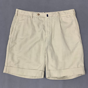 "INCOTEX Mens CHINOLINO Slim Fit SHORTS - Size IT 50 - 34"" Waist"