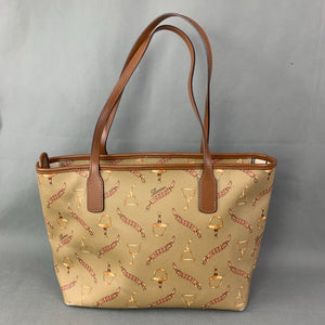 LAUREN Ralph Lauren RLL Horsebit Graphic Handbag / Tote Bag
