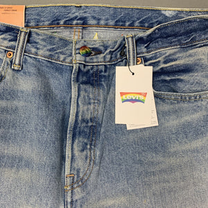 "New LEVI STRAUSS &Co Mens LEVI'S PRIDE 501 SHORTS Size Waist 34"" LEVIS BNWT"