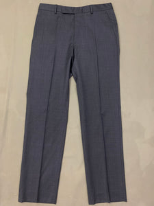 "ERMENEGILDO ZEGNA Blue Wool 2 PIECE SUIT Size IT 50 R - 40"" Chest W34 L31"