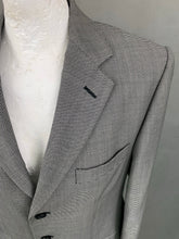 "Load image into Gallery viewer, CORDINGS of Piccadilly Mens Houndstooth BLAZER / JACKET Size 40 - 40"" Chest"