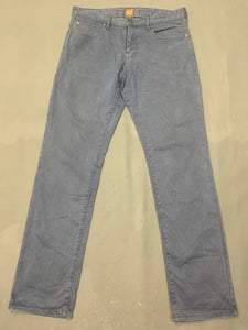 "HUGO BOSS Mens ORANGE24 BARCELONA Denim JEANS Size Waist 34"" - Leg 34"""