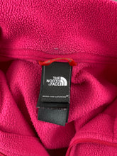 Load image into Gallery viewer, THE NORTH FACE Ladies Pink POLARTEC Zip Fasten FLEECE TOP Size Medium M