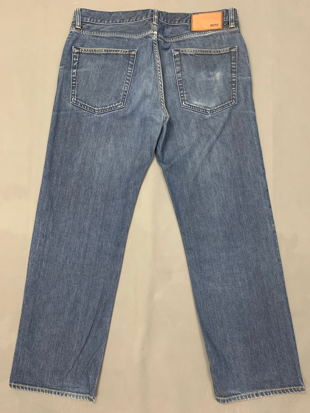 HUGO BOSS Mens SCOUT Blue Denim JEANS Size Waist 36
