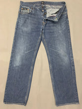 "Load image into Gallery viewer, HUGO BOSS Mens SCOUT Blue Denim JEANS Size Waist 36"" - Leg 29"""